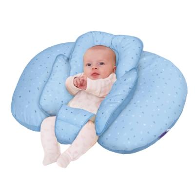 奇哥 ClevaMama 十合一育嬰枕-藍