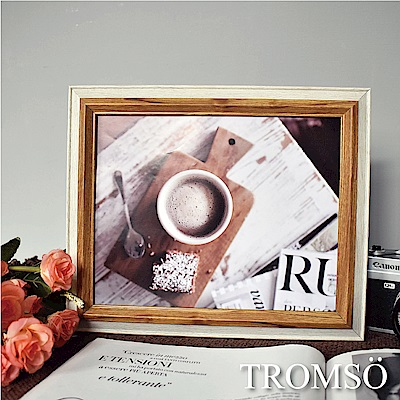 TROMSO 巴黎撞色木紋8x10相框-原木