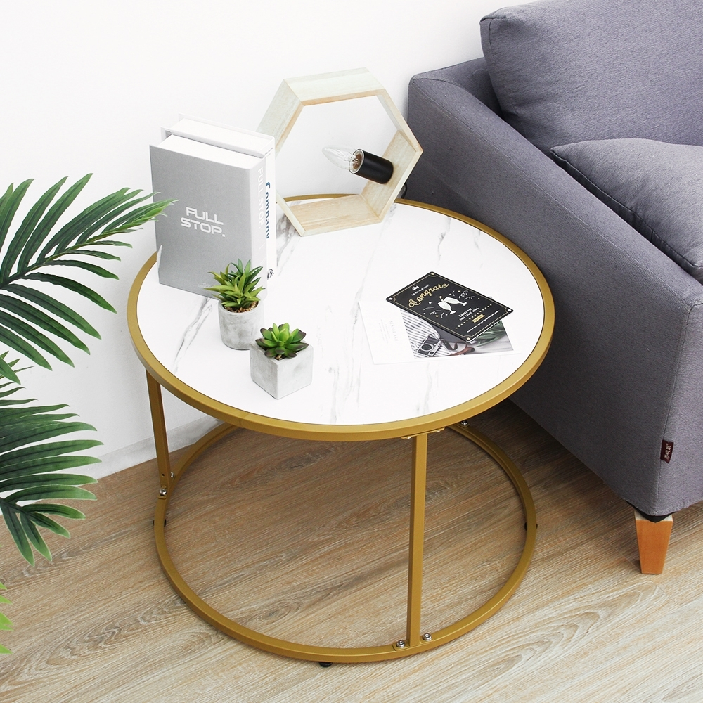 【Incare】北歐風仿大理石客廳沙發茶几桌(兩款可選) product image 1