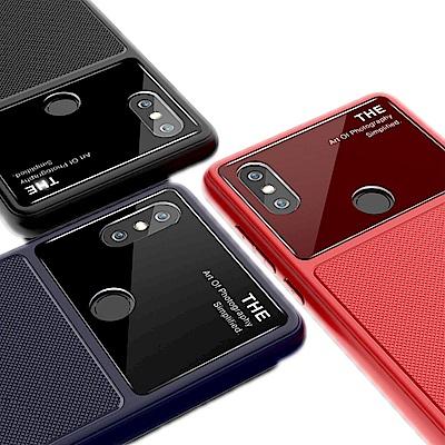 QinD MIUI 小米 MIX 2s 爵士玻璃手機殼
