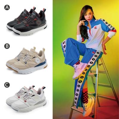 【時時樂限定48折】LOTTO 義大利 男女 義式復古老爹鞋/AIR FLOW 4.0 風動跑鞋/編織氣墊跑鞋-16款任選