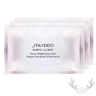 *SHISEIDO資生堂 美透白淨電力面膜(單片) x3