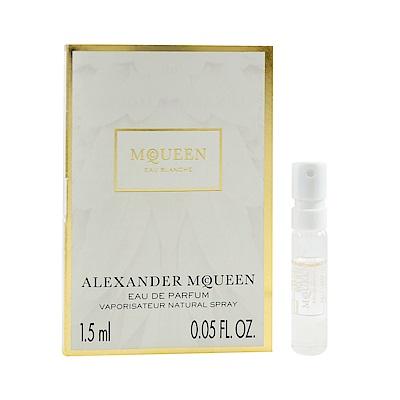 Alexander McQueen 白花之水 女性淡香精 針管小香 <b>1</b>.5ml