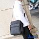 Jarvis 側背包 硬殼公事商務包 時尚亞仕黑絲光面
