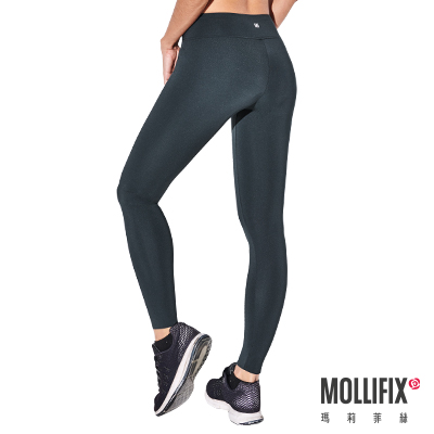 Mollifix 瑪莉菲絲 彈力修身動塑褲 (水墨綠)