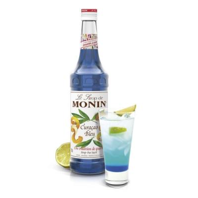 Monin糖漿-藍柑700ml
