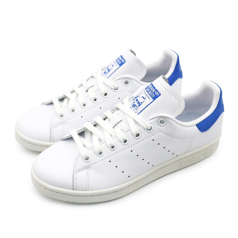 ADIDAS STAN SMITH 男白藍休閒鞋-BD8022
