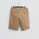 Hang Ten - 男裝 - 素色純面棉質短褲 - 卡其