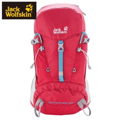【Jack Wolfskin 飛狼】Adventure 35 登山背包『紅色』