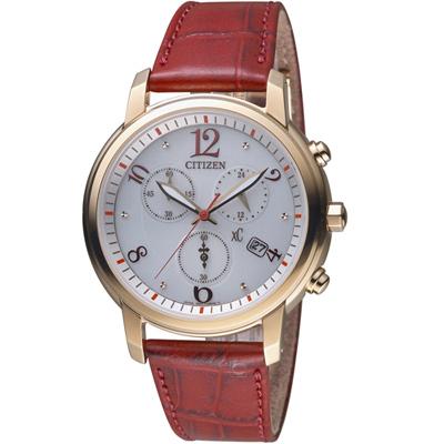 CITIZEN xC 系列花漾年華計時腕錶( FB1432-12A)