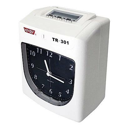 Vertex世尚六欄位微電腦智慧型打卡鐘 TR-301