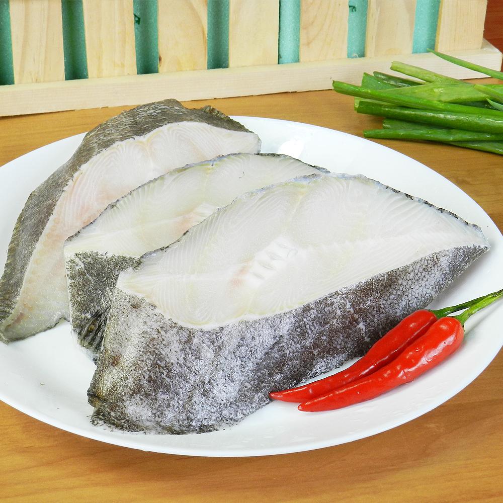 【好神】格陵蘭無肚洞比目魚(扁鱈)切片 6片組
