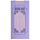 ANNA SUI 繽紛花點點圖騰花紋靜電防止加工半統襪(紫色)