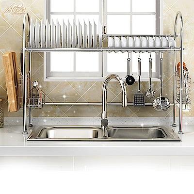 【Incare】收納空間up! 不袗碗架水槽瀝水架(單槽設計)
