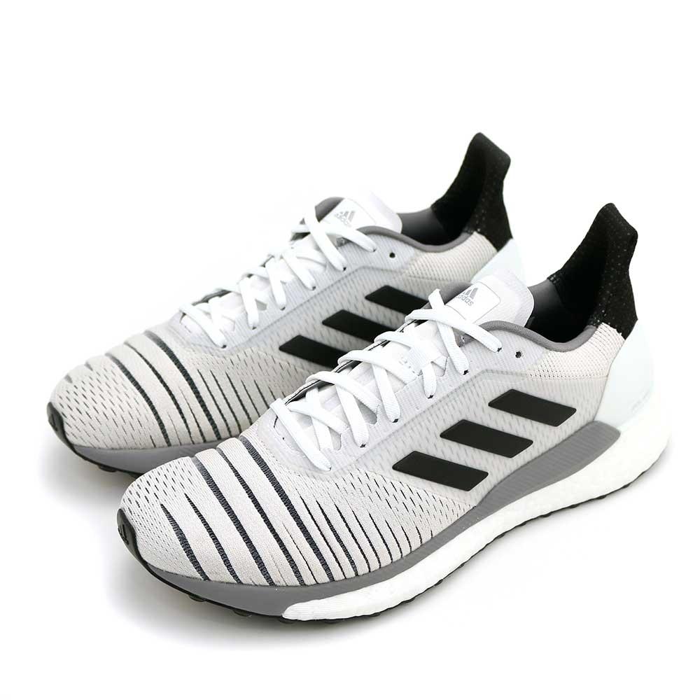 ADIDAS SOLAR GLIDE W 女跑步鞋 白黑-BB6630