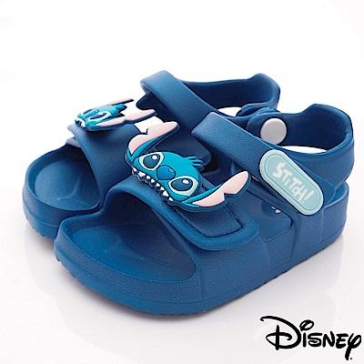 迪士尼童鞋 STITCH超輕涼鞋款 ON9304藍(中小童段)