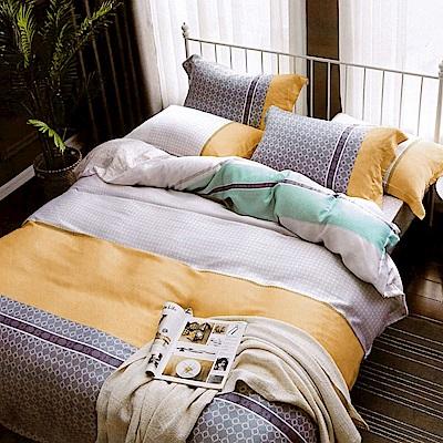 Lily Royal 天絲 雙人 四件式兩用被床包組 冬日戀曲