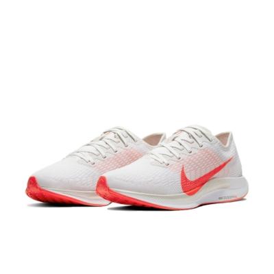 Nike 慢跑鞋 Pegasus Turbo 2 女鞋 Zoom 運動 跑鞋 避震 路跑 白 紅 AT8242008