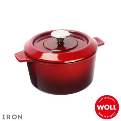 WOLL德國歐爾 IRON鑄鐵鍋20cm-紅