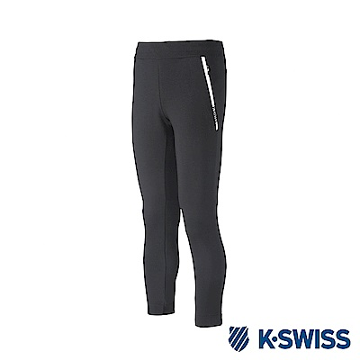 K-Swiss Traning Pants 運動長褲-女-黑