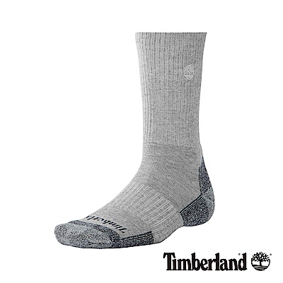 Timberland 男款灰色中筒襪 A1ECT020