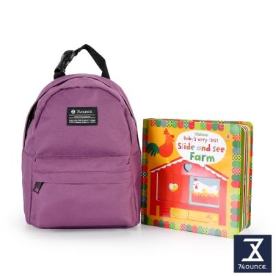 74盎司 Kid兒童後背包[K-033]紫