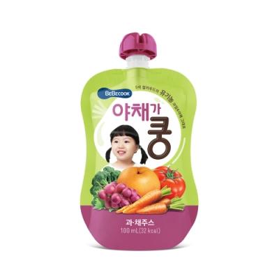 韓國 【BEBECOOK】 嬰幼兒果汁2入組(綜合蔬果)