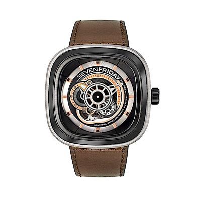 SEVENFRIDAY P2B 潮流新興瑞士機械腕錶