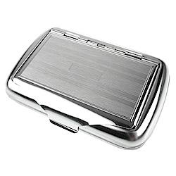 英國進口 TOBACCO CASE-馬口鐵製收納盒(煙盒/捲煙紙盒/煙草盒)-線條款