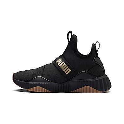 PUMA-Defy Mid Sparkle女性有氧運動鞋-黑色