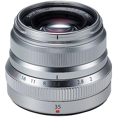 FUJIFILM XF 35mm F2R WR 銀色 (平行輸入)