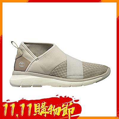 [時時樂限定] Timberland 女款米白色鬆緊帶休閒鞋