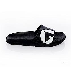 【AIRWALK】 防滑耐磨室內外拖鞋-黑