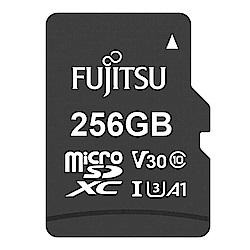 Fujitsu富士通 microSDXC U3 A1 V30 UHS-I 256GB記憶卡
