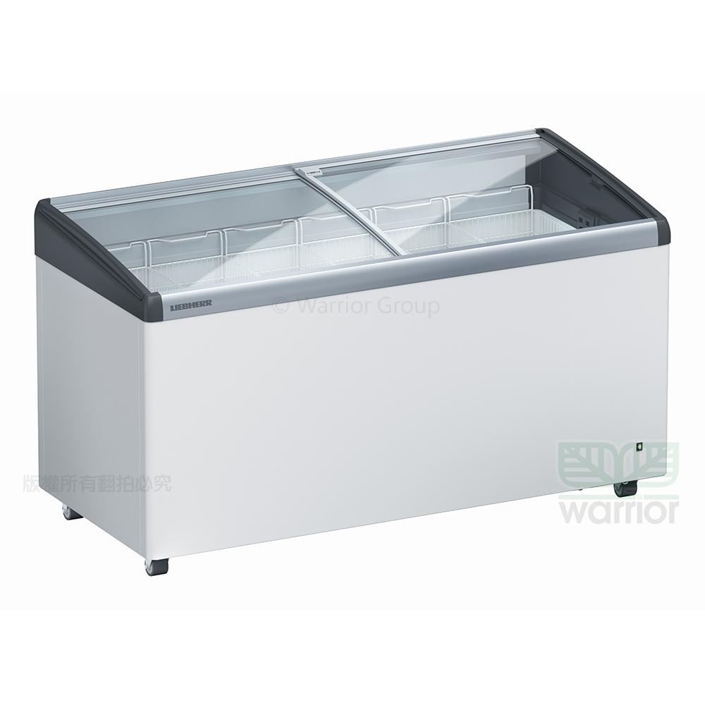 德國利勃LIEBHERR 4尺9 弧型玻璃推拉冷凍櫃303L(EFI-4453)附LED燈