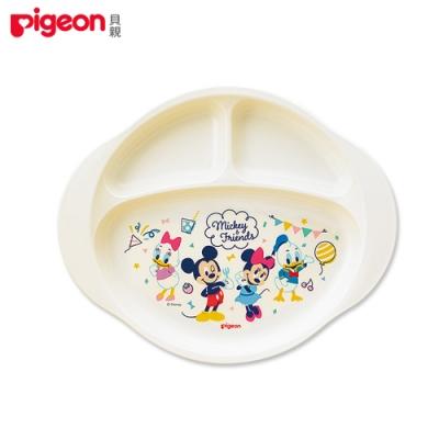 【任選】日本《Pigeon 貝親》迪士尼三格餐盤(米奇&米妮)