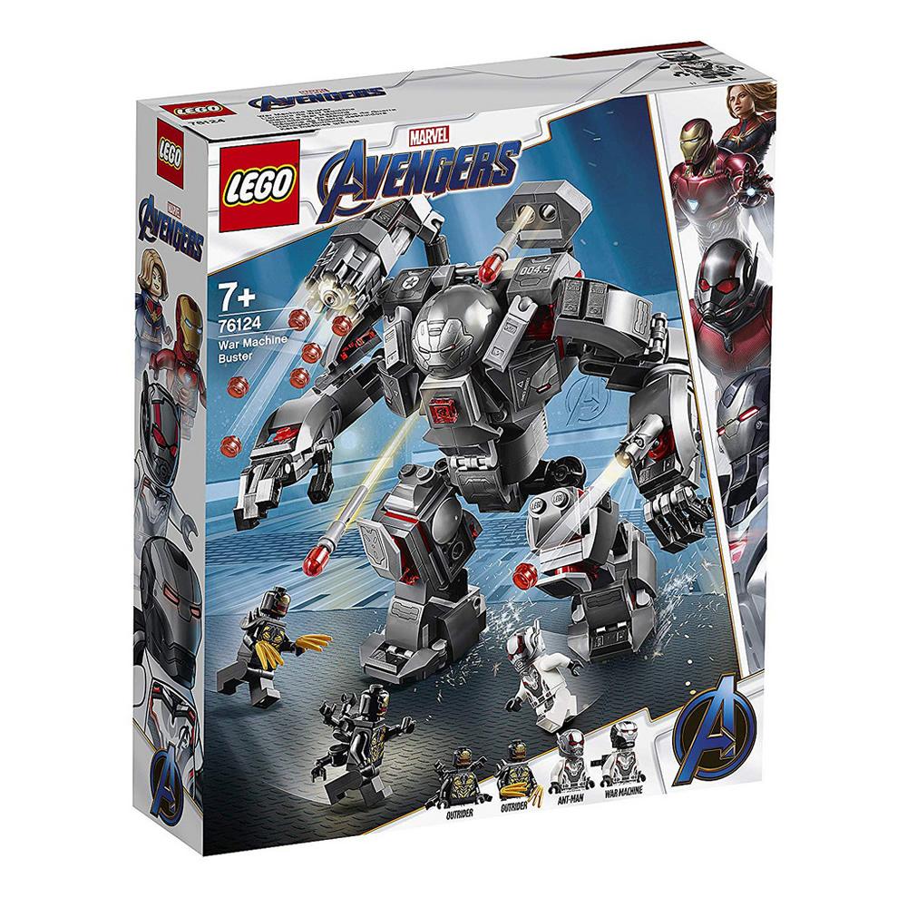 樂高LEGO 超級英雄系列 - LT76124War Machine Buster