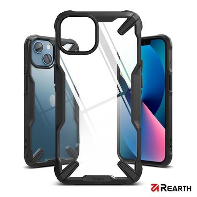 Rearth Apple iPhone 13 mini (Ringke Fusion X) 高質感保護殼(黑)
