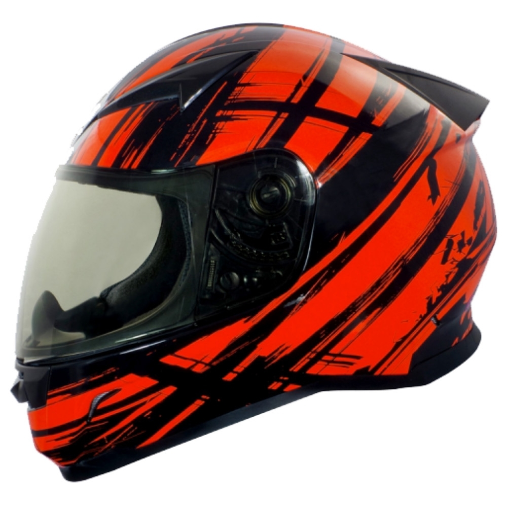 【GP-5】 極限運動 全罩安全帽│抗菌│機車│內襯│抗UV鏡片│GOGORO│G1 (黑橘紅)