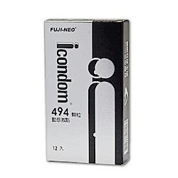 FUJI-NEO ICONDOM 艾康頓 動感激點 衛生套 保險套 12入