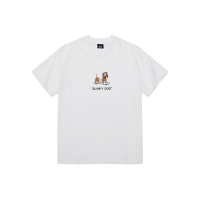 CACO-MIT 彈簧狗短T(兩色)-男【SDI038】