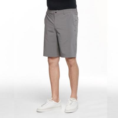 【HAKERS 哈克士】男 彈性快乾抗UV短褲(炭灰)