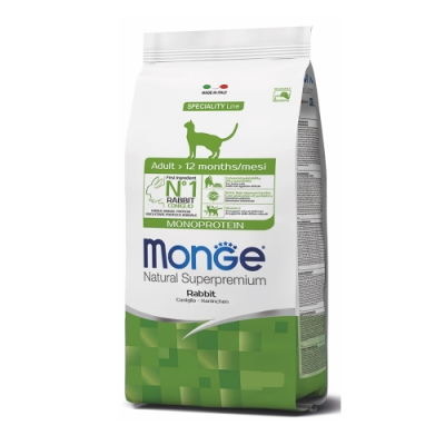 Monge瑪恩吉 天然全能 成貓糧(兔肉)1.5kg