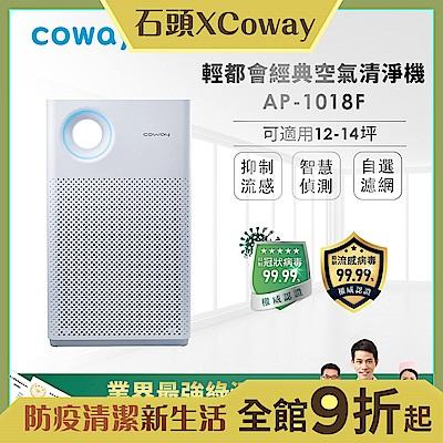 Coway 經認證抑制冠狀病毒 13坪 綠淨力輕都會經典空氣清