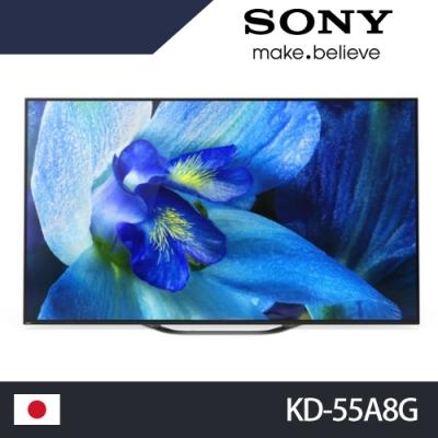SONY 55吋 4K OLED 聯網 液晶電視 KD-55A8G
