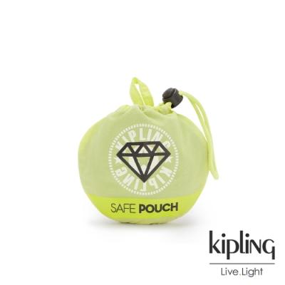 Kipling 清新奶油果綠簡約束口袋-PACK SUPPORT