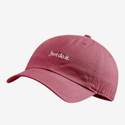 NIKE 帽子 棒球帽 老帽 休閒 運動 粉紫 CQ9512614 U NSW H86 CAP JDI WASH CAP