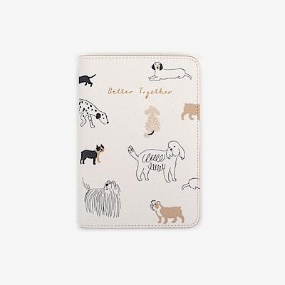 Dailylike 美好生活皮革護照套-11 狗狗們