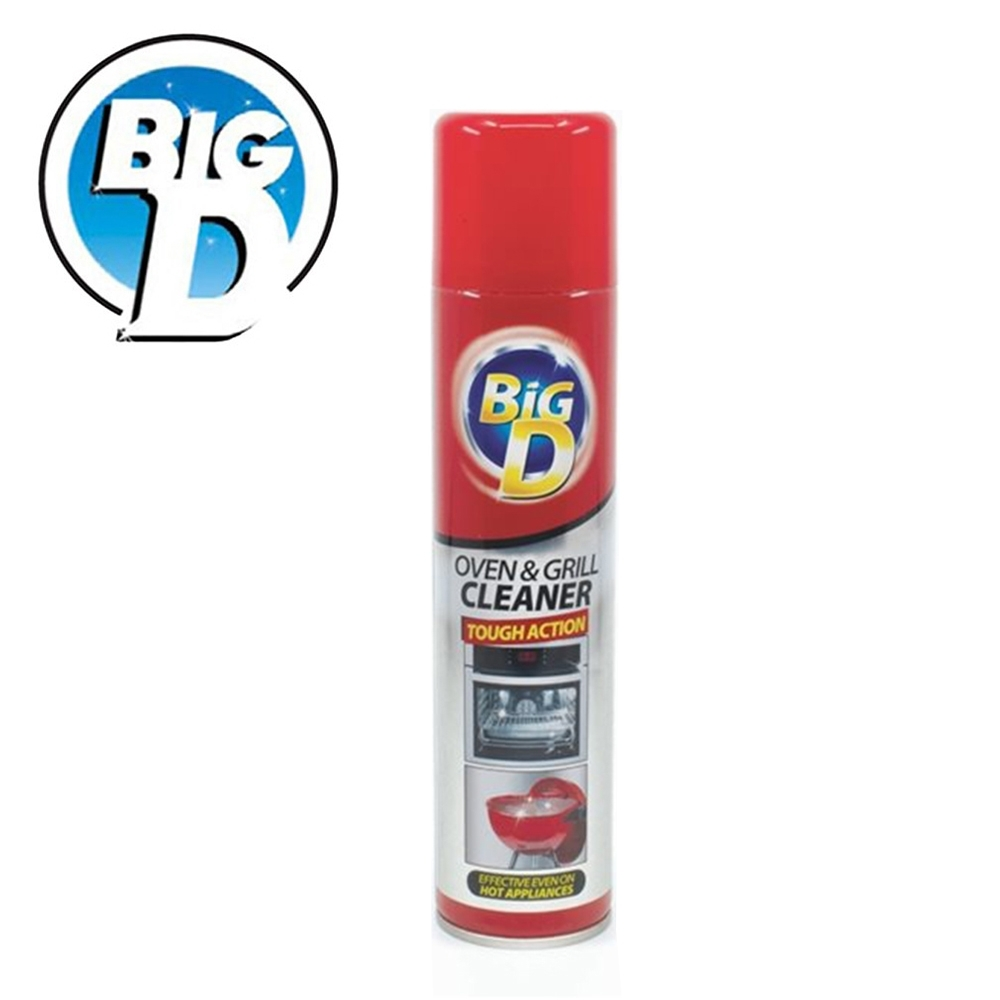 【英國Big D】烤箱烤爐清潔劑300ml