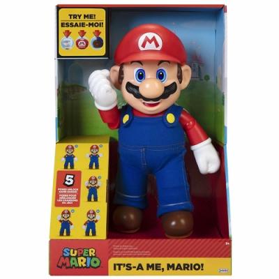 任天堂 超級瑪利歐 - 12吋感應音效瑪利歐